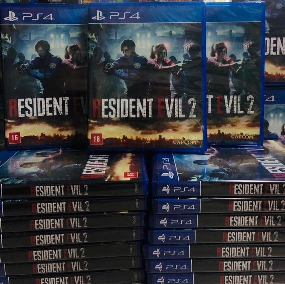 Resident Evil 2 Remake Ps4 Mídia Física Envio Imediato
