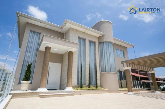 Bela Casa De Alto Padrão À Venda Em Condomínio Fechado Na Região De Atibaia Sp - Ca2086