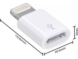 Adaptador Lightning Usb Micro-usb iPhone 5 6 7 8 X iPad Top