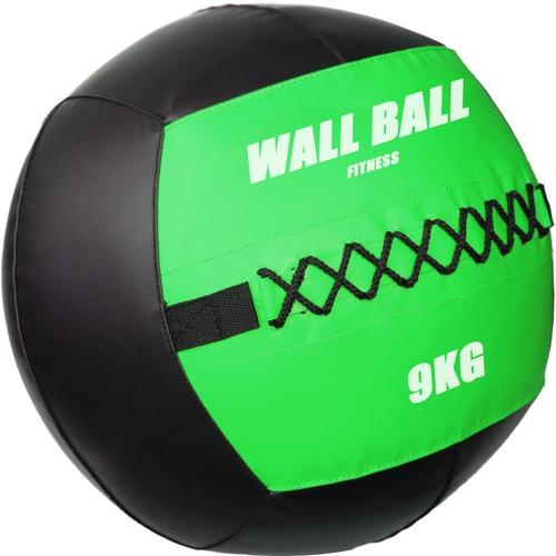Imagen 1 de 4 de Wallball 9kg / Pelota Medicinal / Crossfit Diámetro 35cms