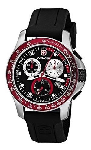 Relojes De Pulserareloj Wenger 70789 Negro..