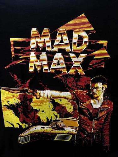 Imagen 1 de 3 de Mad Max - Pelicula Cine De Culto - Polera- Cyco Records