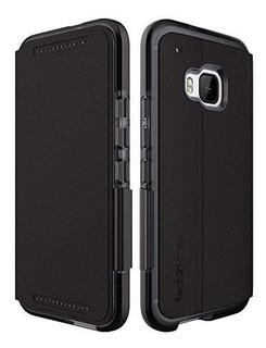 Funda Tech21 Evo Wallet Flexshock Para Htc One M9 Embalaje