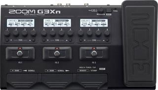 Pedalera Multiefectos Zoom G3xn Con Pedal De Expresion Wah