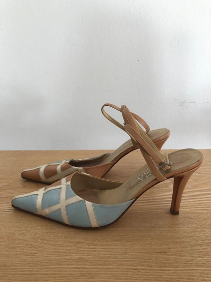 Stilettos Talle 39 - Zapatos De Mujer - Con Tira Para Atar