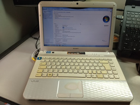 Notebook Sony Vaio Vpceg13eb Funcionando!