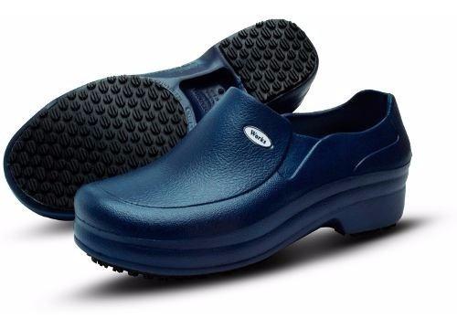 Sapato Calçado Soft Works Profissional Bb65 Azul