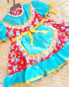 Vestido Caipirinha Bebê