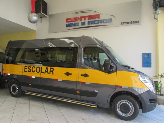 Renault Master Escolar L3h2 Cinza 2020