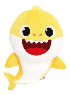 Peluche Baby Shark Con Música Y Luces 34cm Alto