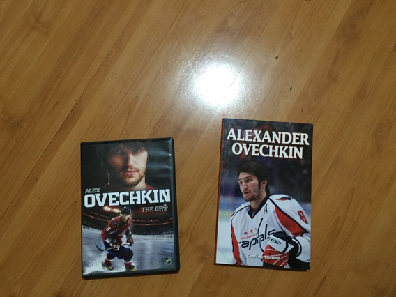 Dvd E Livro - Alex Ovechkin