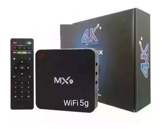 Aparelho Mx9 P Transformar Tv Em Smart Tv Android 4x32gb 5g