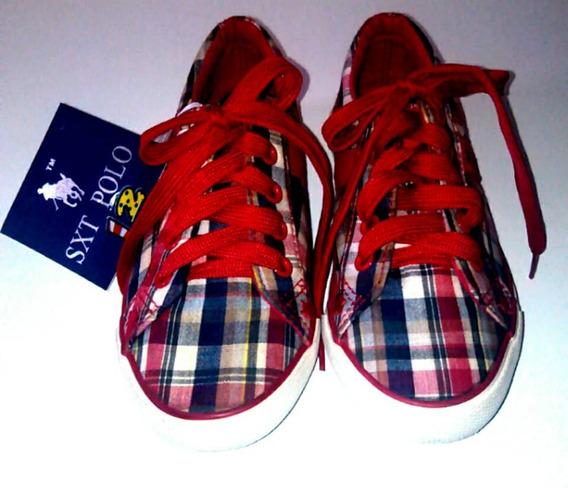 Zapato Deportivo Polo Ralph Lauren Niñas (verdes 10) Oferta
