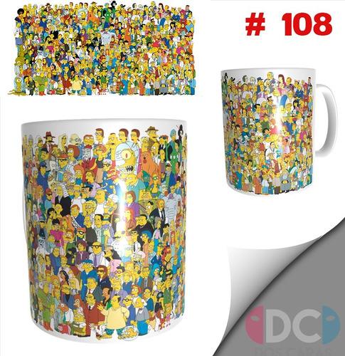 Taza Simpsons Series De Tv # 108