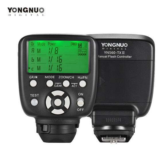 Yongnuo Yn560-tx Ii Gatilho Flash Manual Para Canon Dslr