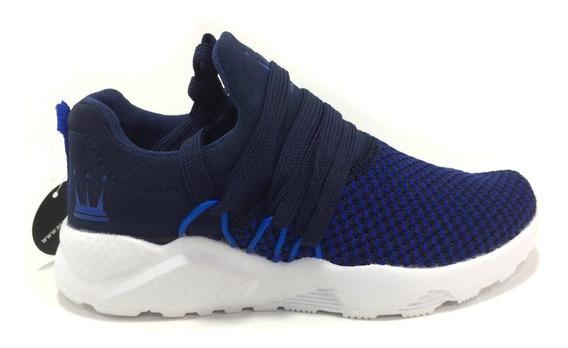 Zapatos Dada Para Niños - Dd16759b - Navy - Talla 30 A 35