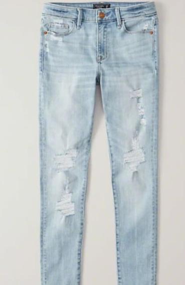 Calça Jeans Abercrombie - Cintura Baixa - Original Usa