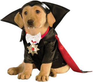 Disfraz Para Mascota Rubie`s Medio Dracula