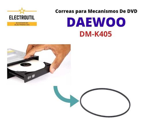 Correa Para De Dvd Daewoo Modelo Dm-k405