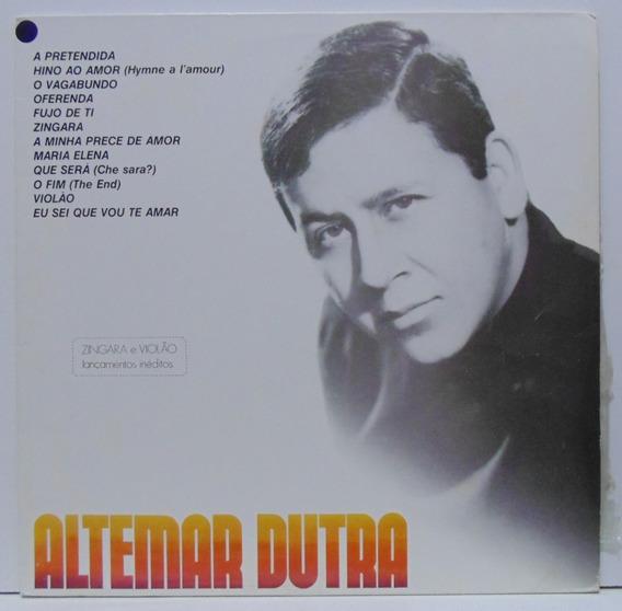 Lp Altemar Dutra. Sucessos Volume 4. 1975. Vinil.