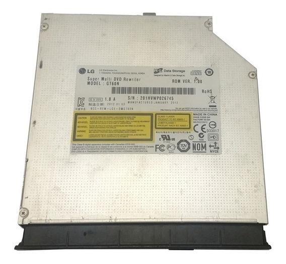 Drive Gravador Cd Dvd Sata Notebook Positivo Sim+ 7400 6000