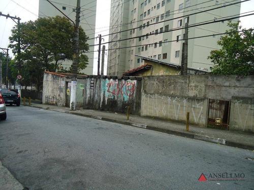 Imagem 1 de 2 de Terreno À Venda, 176 M² Por R$ 320.000,00 - Baeta Neves - São Bernardo Do Campo/sp - Te0051