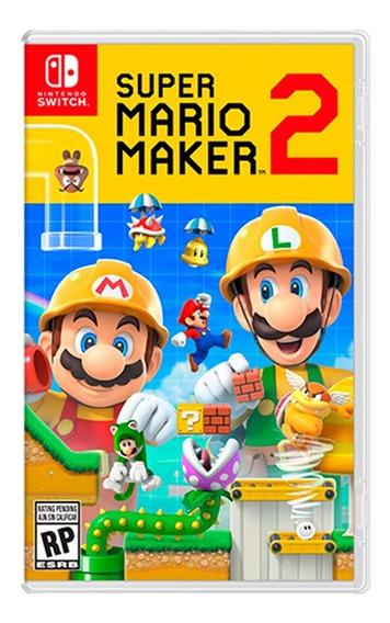 Videojuego Super Mario Maker 2 Nintendo Switch Hac-p-baaqa