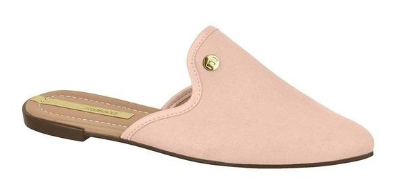 Mule Sapatilha Sapato Feminina Moleca 5444100 Novo