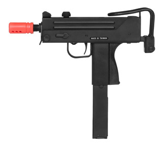 Pistola De Airsoft À Gás Gbb Green Gás M11a1 Blowback 6mm -