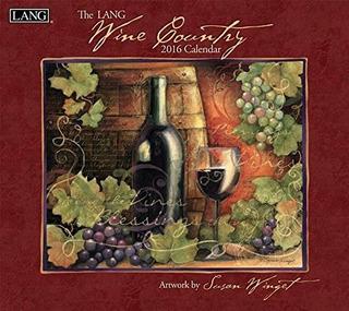 Wine Country 2016 Calendarioio Nuevo