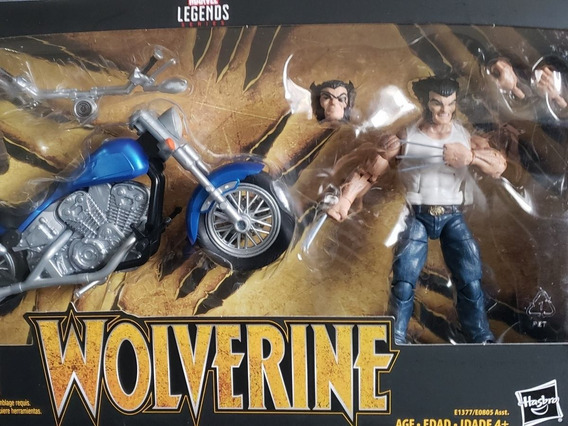 Marvel Legends Wolverine Motorcycle Moto (baixou)