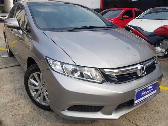 Honda Civic Lxl 1.8 Completo 2013 Flex
