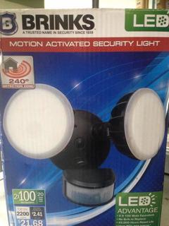 Lámpara Brinks De Seguridad Con Sensor De Movimiento