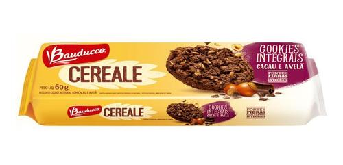 Cookies Cereale Cacau E Avelã Bauducco 60g