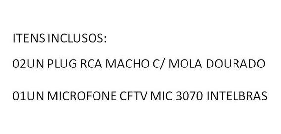 2un Rca 1un Microfone