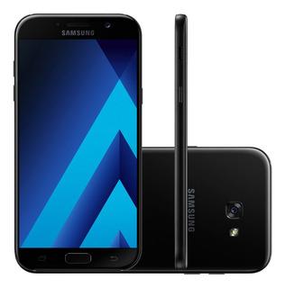 Samsung Galaxy A7 2017 A720f 64gb 3gb Ram Preto Vitrine 1