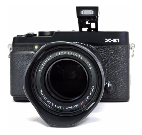 Fuji Xe-1 Com 18-55mm Zerada, Na Caixa