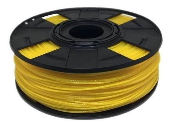 Filamento Pla Amarelo Easyfill 1,75mm Impressão3d 500 Gramas