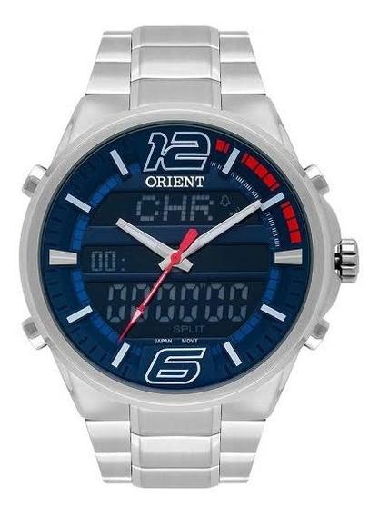 Relógio Orient Masculino Prateado Mbssa047 Dvsx
