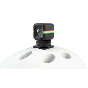 Câmera De Ação Full Hd Cube Polaroid + Suporte De Capacete