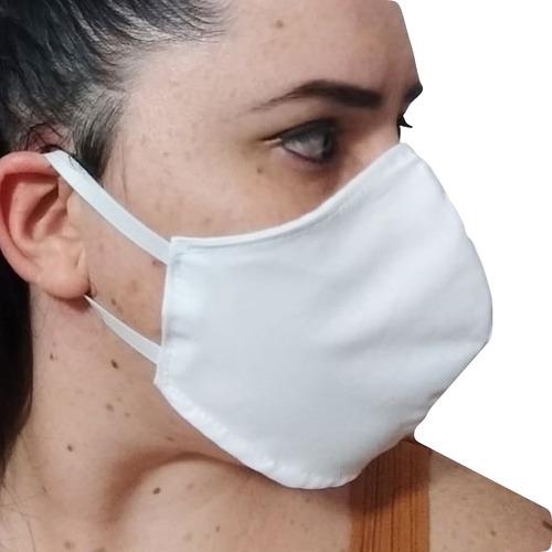 Kit 4 Máscaras Proteção Respiratória Tecido Envio Imediato