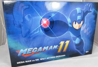 Capcom Megaman 11 Diorama Megaman Vs De Willy