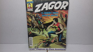 Gibi Hq Zagor Nº1 O Grande Herói Está De Volta!