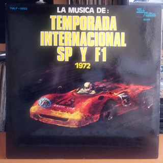 Copilado Tamla Motown Formula 1 Poster Fotos Vinilo 9 Pts