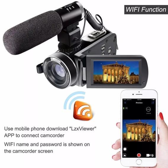 Camera Digital Semi Profissional Entrada Microfone