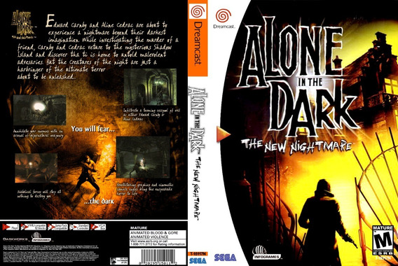 Alone In The Dark: The New Nightmare - Dreamcast - Selfboot