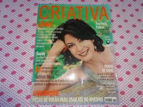 Revista Criativa Ana Paula Padrão,alice Braga,julia Roberts