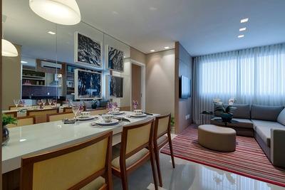 Apartamento No Sagrada Família Com 2 Quartos, 2 Vagas E Área De Lazer Completa !!! - Op2197