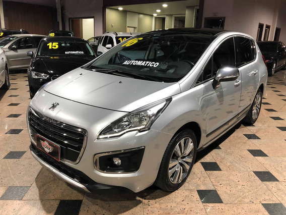Peugeot 3008 1.6 Griffe Thp Gasolina Automático 2015 2016