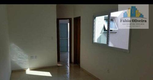 Imagem 1 de 5 de Cobertura Com 2 Dormitórios À Venda, 38 M² Por R$ 280.000 - Vila Floresta - Santo André/sp - Co0126
